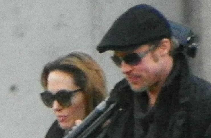 Angelina Jolie cares about Brad Pitt