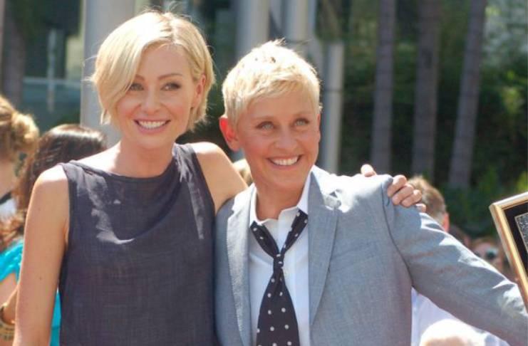 Ellen DeGeneres thinks Portia de Rossi is amazing