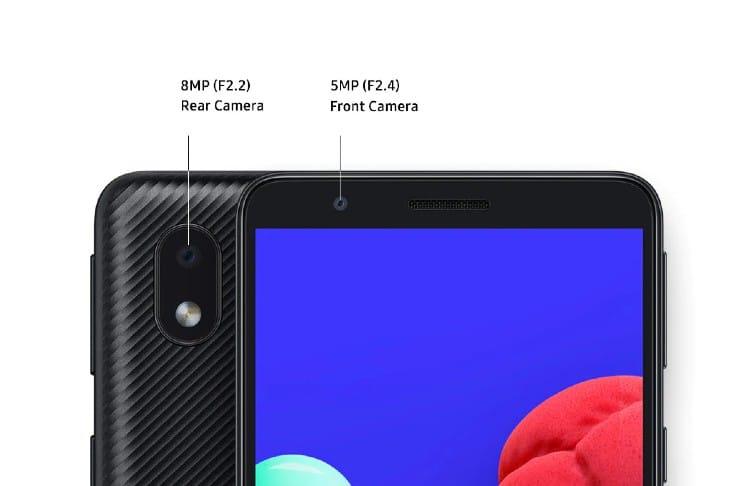 Samsung Galaxy A01 Core has a decent camera