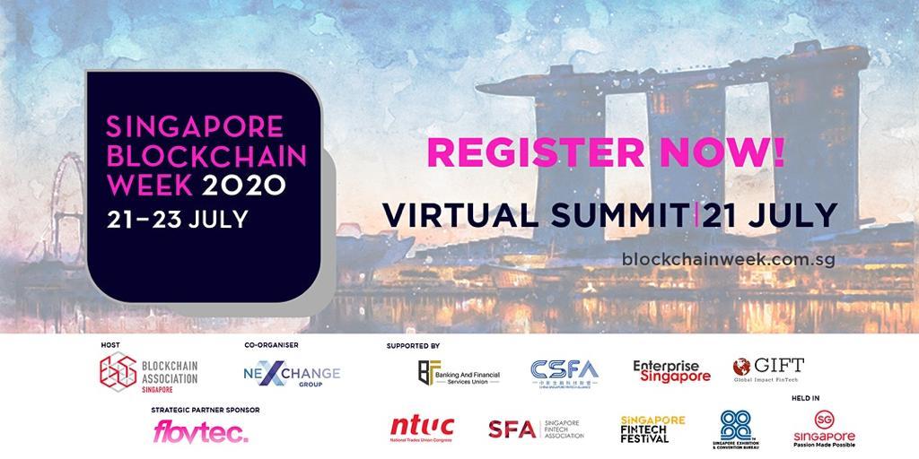 《【2020区块链周】2020年新加坡区块链周为全球区块链专家和监管机构搭建舞台》
