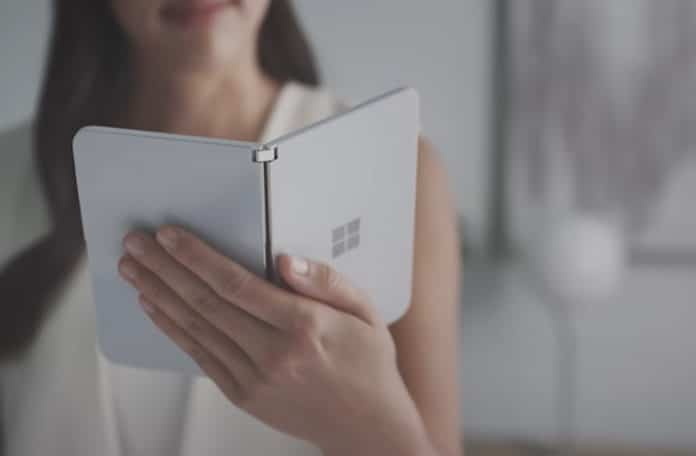 Microsoft Surface Duo new image leaks shows a sizeable bump