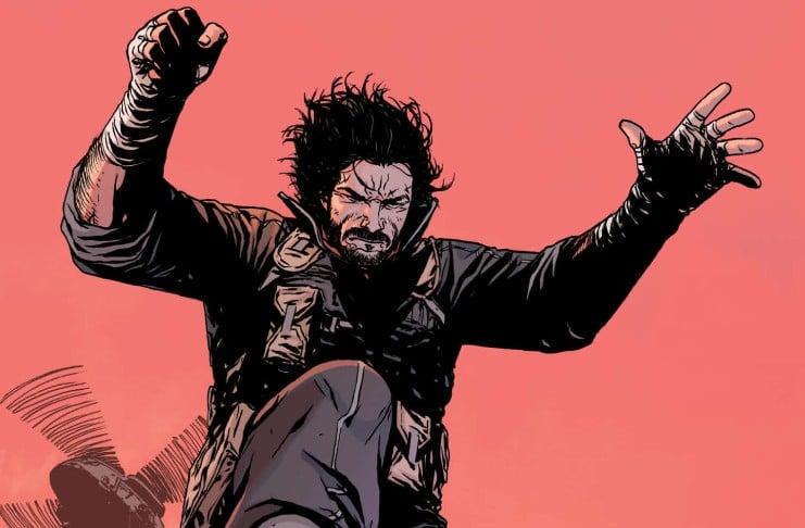 Keanu Reeves BRZRKR comics
