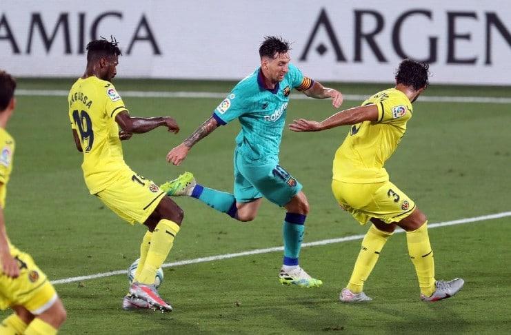 Barcelona Lionel Messi assists
