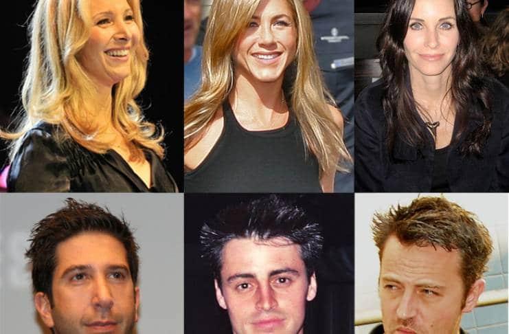 Jennifer Aniston, Courteney Cox's double wedding