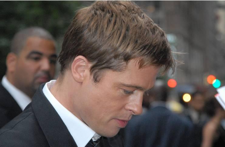 Brad Pitt helping his girlfriend land an acting job