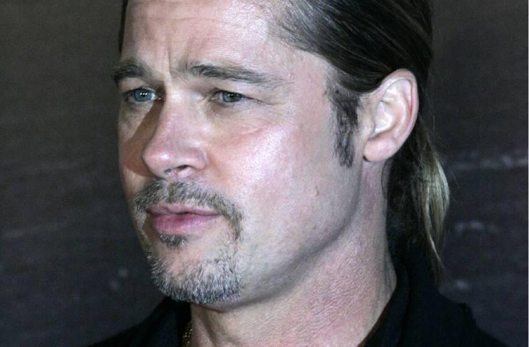 Brad Pitt doesn't care if he'll upset Angelina Jolie