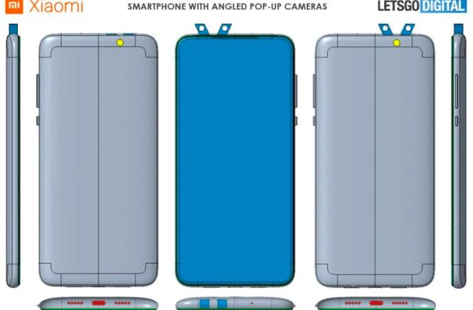 Xiaomi patent: dual pop-up camera phone in development