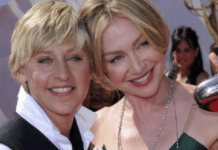 Portia de Rossi applauds Ellen DeGeneres after filming season 18 premiere episode