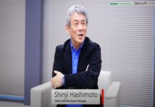 Square Enix EO and Final Fantasy brand manager, Shinji Hashimoto