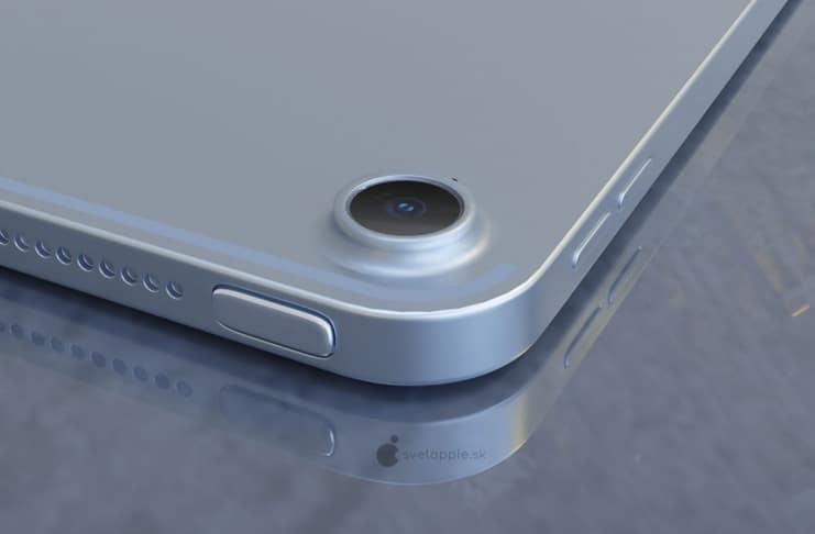 iPad Air 4 concept shows off iPad Pro vibes