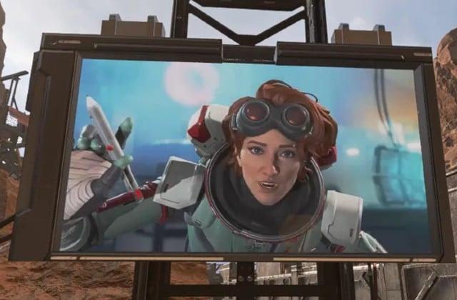 Apex Legends Horizon teased in the firing range