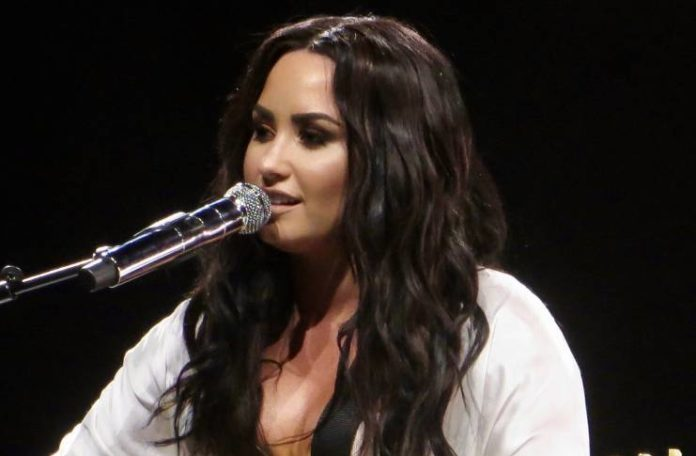 Demi Lovato acting like she was never engaged to Max Ehrich, moves on from actor