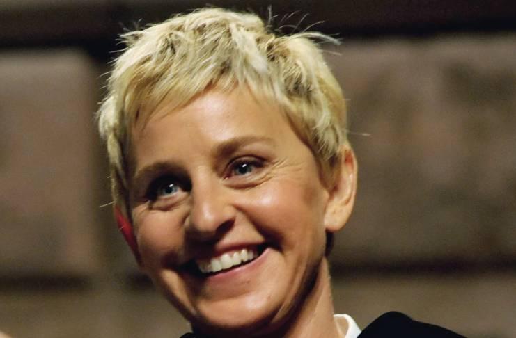 Ellen DeGeneres pushes Portia de Rossi's buttons