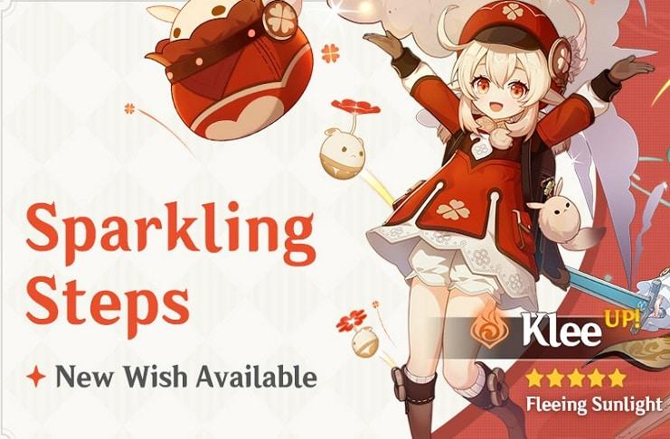 Klee Banner For Genshin Impact Starts October 20 Glbnews Com