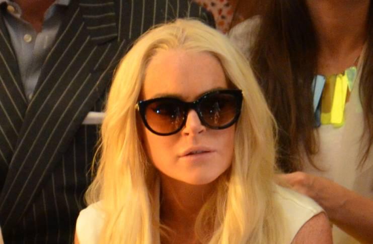 Lindsay Lohan in huge debt