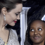 Angelina Jolie, Brad Pitt's daughter Zahara destined for greatness, artist says