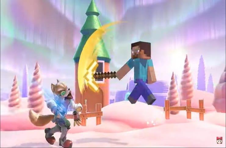 Nintendo prepares character showcase Steve in 'Super Smash Bros. Ultimate' – Micky News