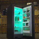 An Xbox Series X-themed refrigerator