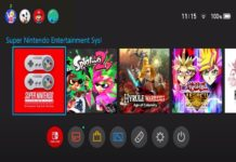 Nintendo Switch updated interface