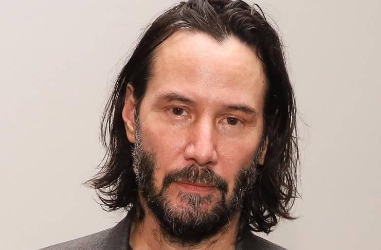 Bryan Randall threatened by Keanu Reeves