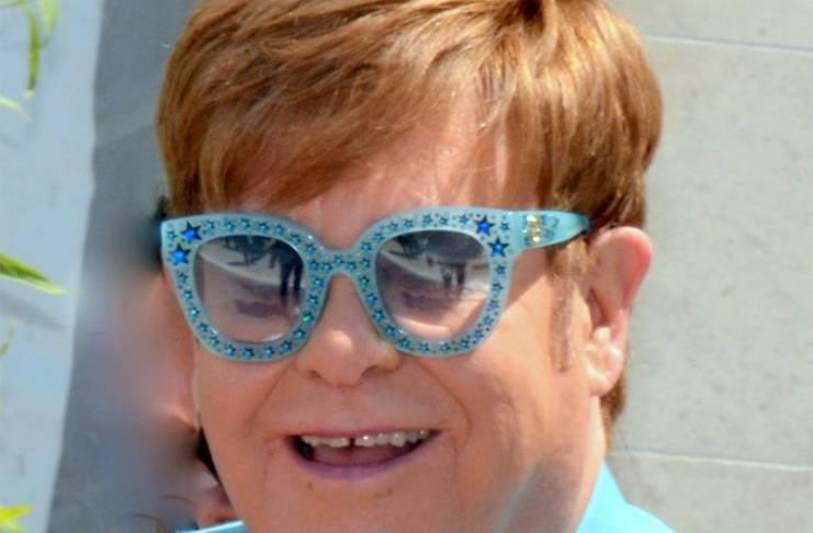 Elton John has an appetite for sweets