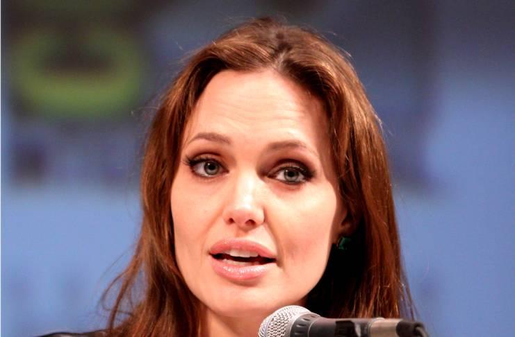 Angelina Jolie spent six hours inside a California hospital